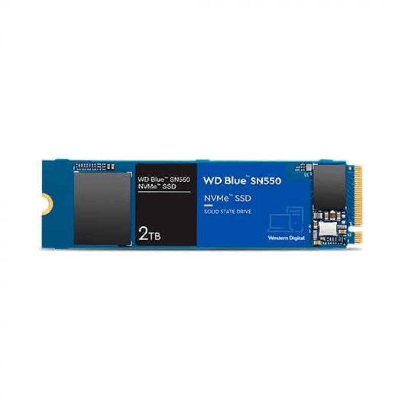DISCO DURO M2 SSD 2TB PCIE3 WD BLUE SN550 - Imagen 1