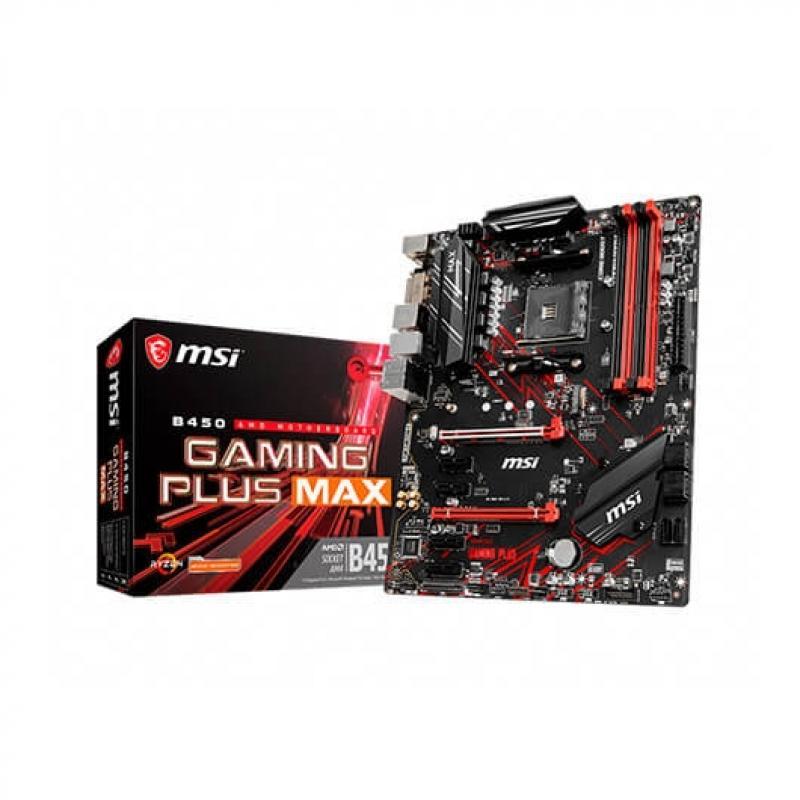 PB MSI AM4 B450 GAMING PLUS MAX - Imagen 1