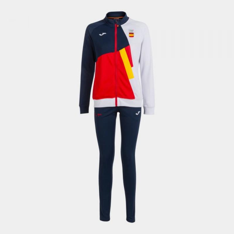 FREE TIME TRACKSUIT COE -NAVY WOMAN - Imagen 1